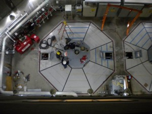 Hydro power plant maintenance