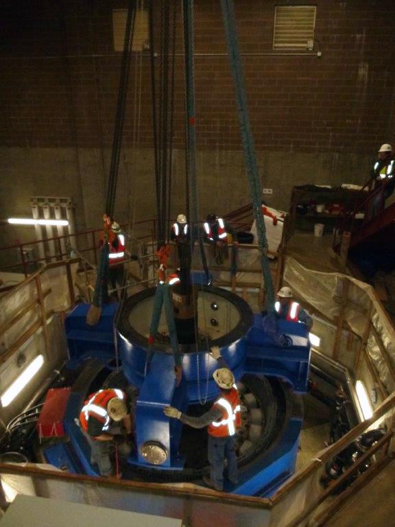 hydro installation